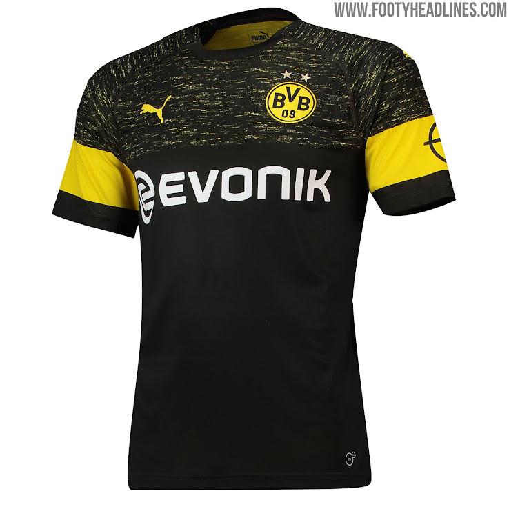 Borussia Dortmund 18-19 Away Kit Released - Footy Headlines