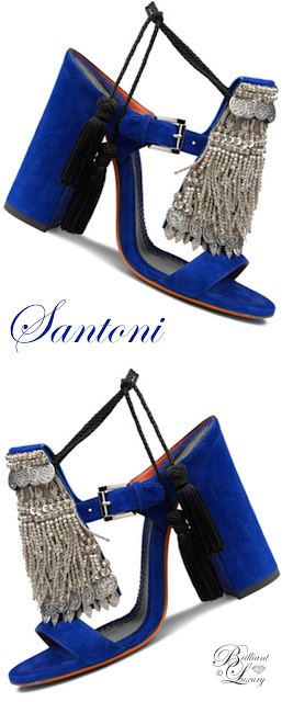 Brilliant Luxury ♦ Santoni Sandals