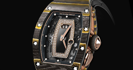 Watches By SJX: Richard Mille Melds Carbon Composite with Gold Leaf in new NTPT Composite