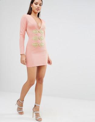 Vestidos cortos pegados formales