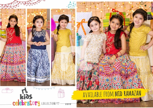 nishat linen eid dresses collection 2017 for girls