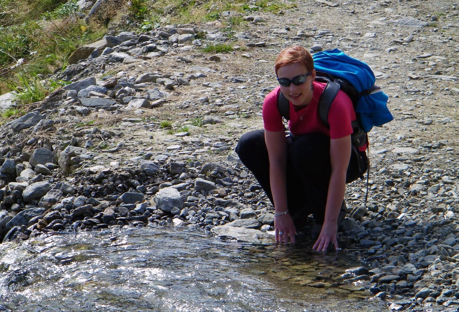 Woda pitna w górach