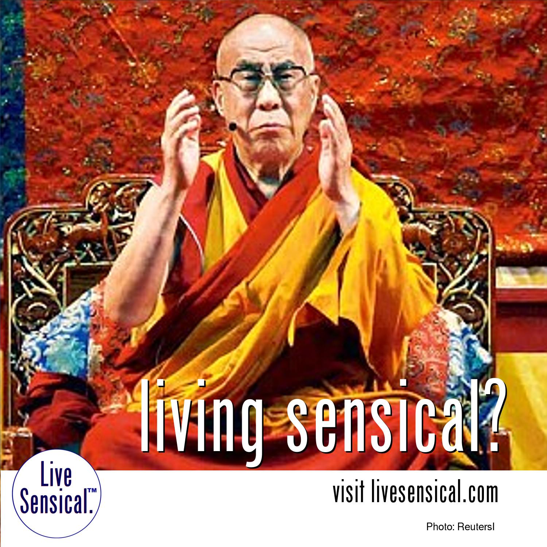 Live Sensical: Dalai Lama - Living Sensical?
