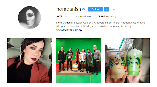 Nora Danish Instagram