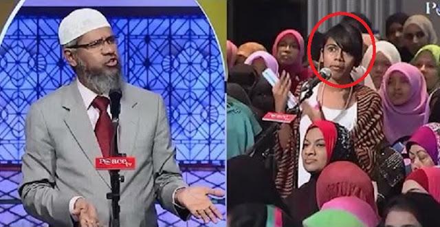 "Mahasiswi Ini ""Jebak"" Dr Zakir Naik dan Menuduhnya Yahudi"