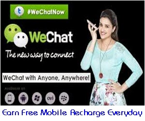 How to Earn Free Mobile Recharge from WeChat daily? - AP