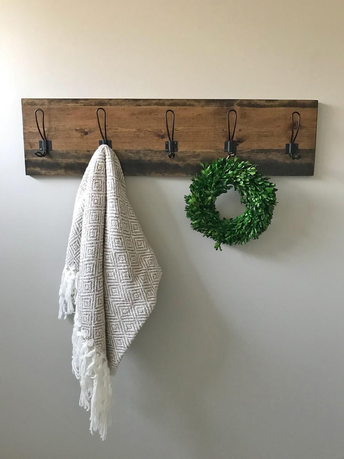 One Room Challenge Week 4 Diy Towel Rack R R At Home