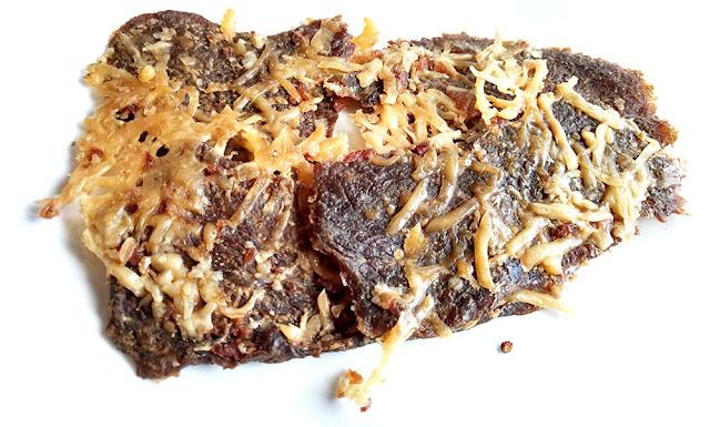 swiss cheese beef jerky