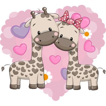 Giraffes emoji