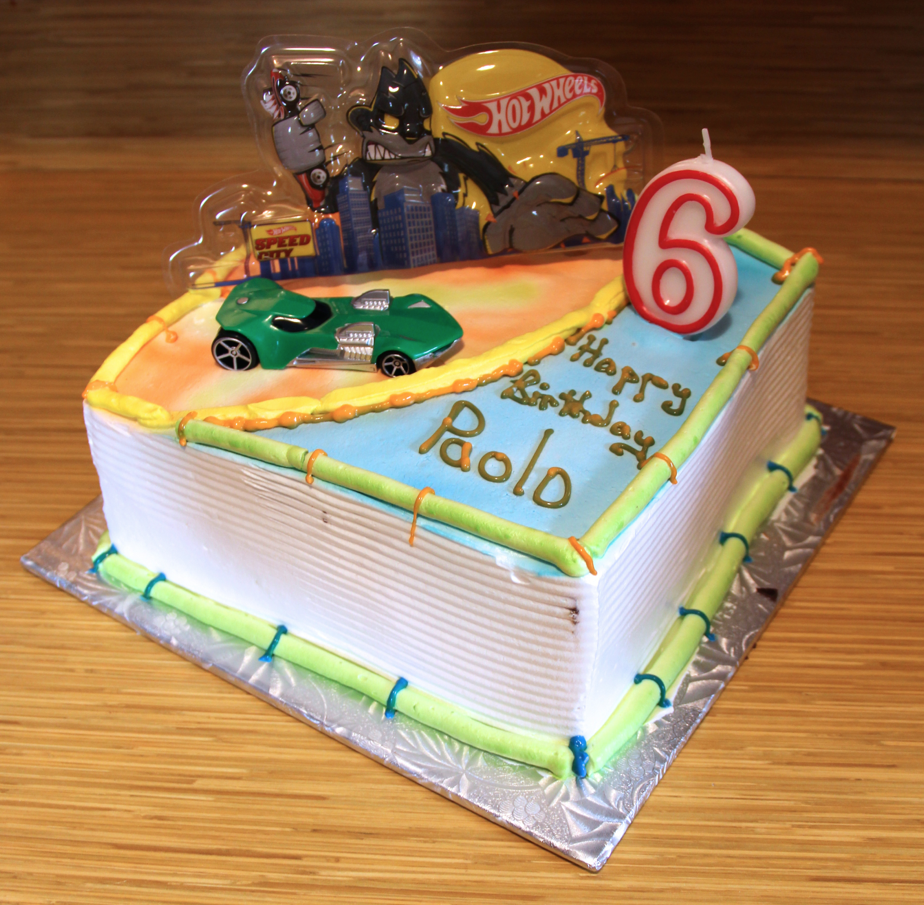 Rob Race Car Birthday Cake