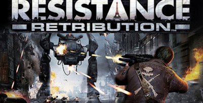 Download Resistance: Retribution (USA) ISO/CSO PSP PPSSPP Ukuran Kecil