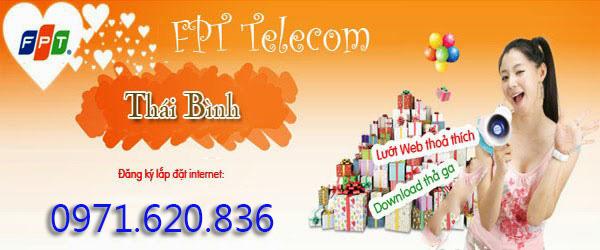 Lắp Đặt Wifi FPT Phường Phú Khánh, Tp Thái Bình Giá Rẻ