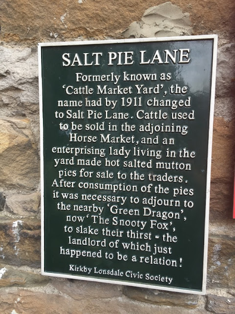 Kirkby Lonsdale, Salt Pie Lane