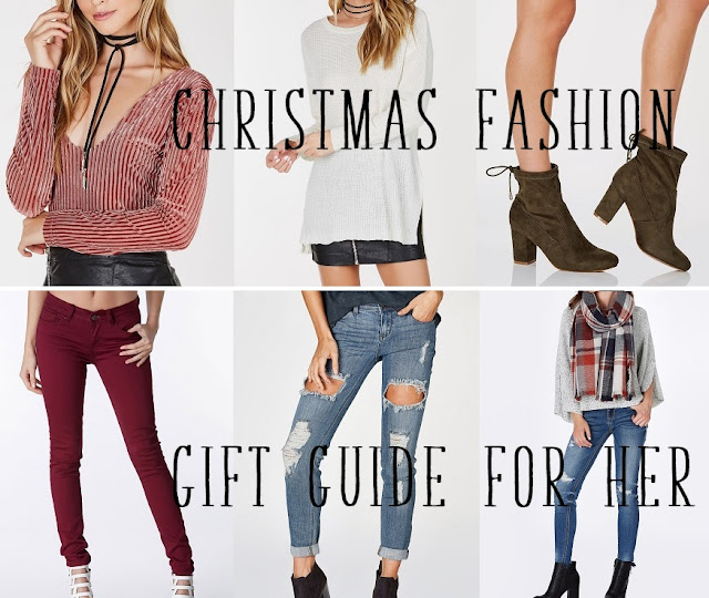 Christmas Fashion Gift Guide For Her MakeUp Fun