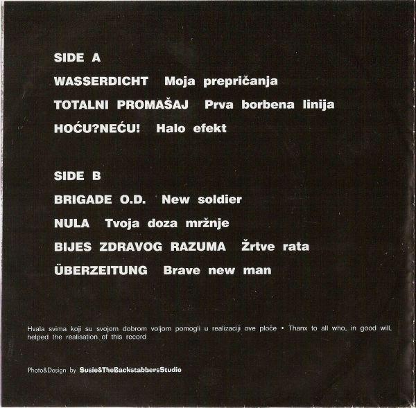 Nula - Bijes Zdravog Razuma Šplit LP