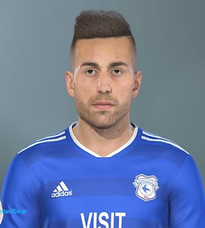 PES 2019 Faces Víctor Camarasa by Lucas Facemaker