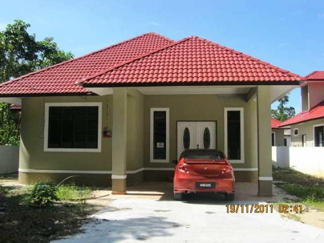 45 Desain Rumah Minimalis Sederhana Kampung Desa Tapi Mewah Warung