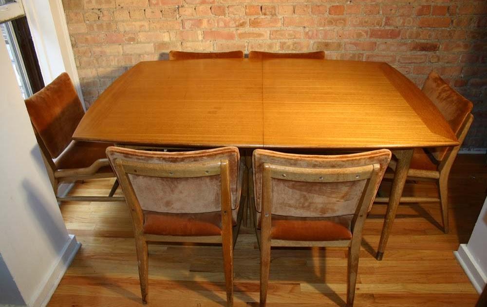 Cercis John Keal Dining Set For Brown Saltman