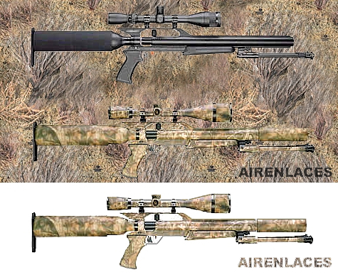 Camuflar rifle