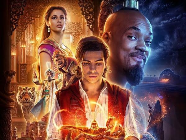 Crítica do Adorocinema ao filme Aladdin 2019 (QUERO VER)