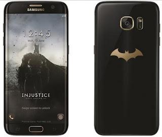 Kumpas Tuntas Samsung Galaxy S7 Edge Edisi Batman