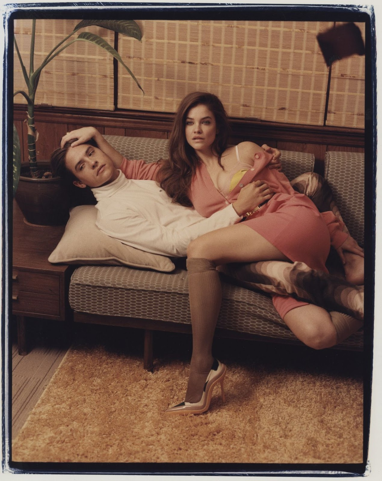 Barbara Palvin and Dylan Sprouse – Photoshoot for W Magazine, February 2019