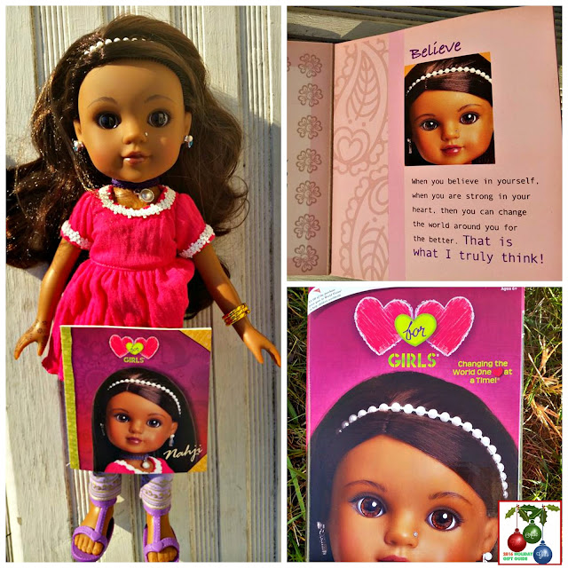 "India, cultural dolls, toys, 14"" dolls, World Vision, gifts that give back"