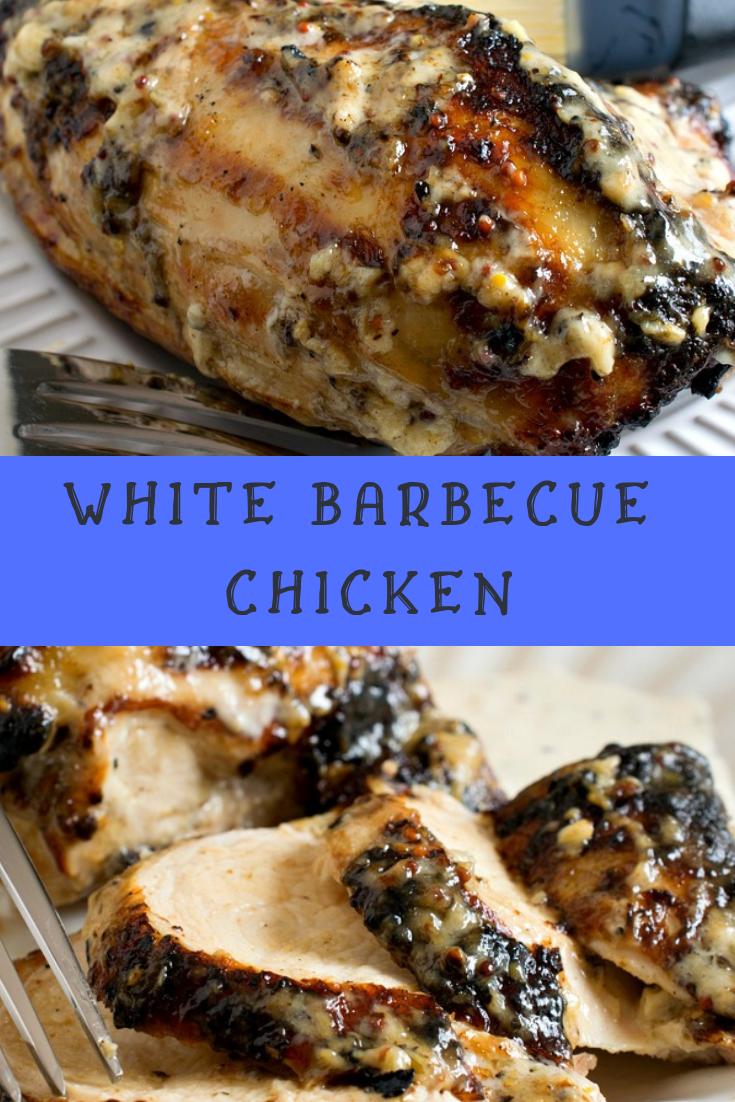 White Barbecue Chicken Recipe