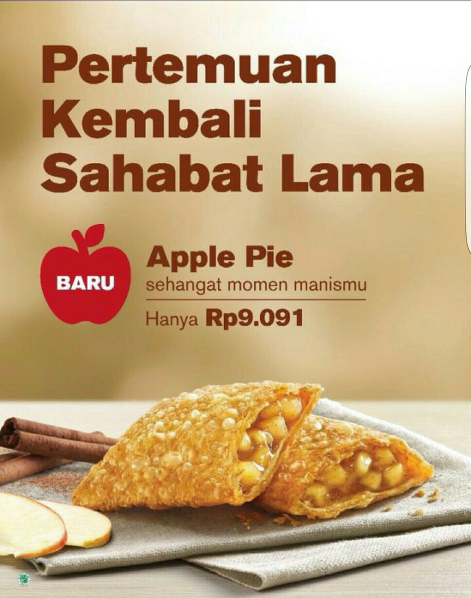 Apple Pie McDonalds Indonesia