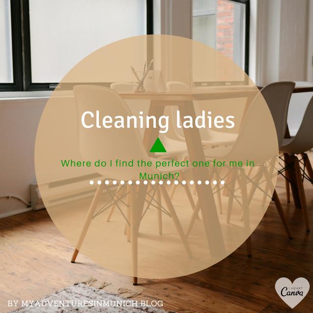 My adventures in Munich: Cleaning lady in Munich (1/2)