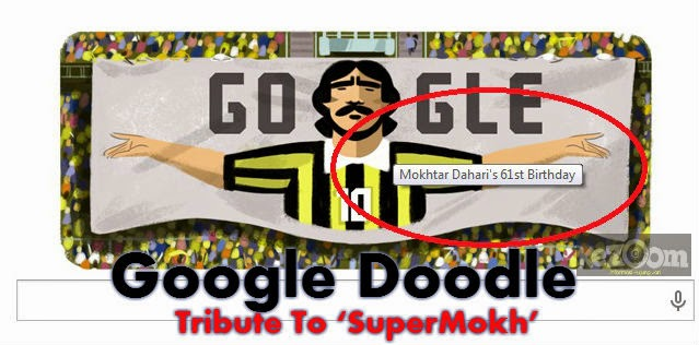 Google Doodle: Tribute To 'SuperMokh'