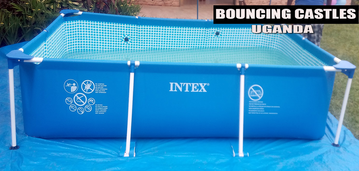 Bouncing Castles Uganda Portable Swimming Pools For Hire