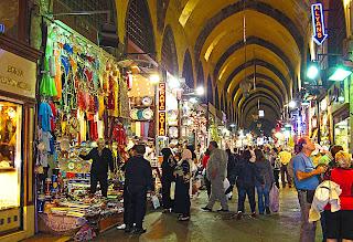 Lots of shops in the Grand Bazaar