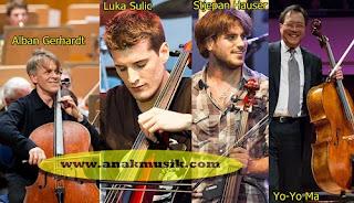 Pemain Cello Terkenal dan Terbaik di Dunia