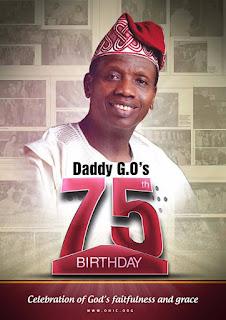 Happy 75th Birthday Daddy G.O