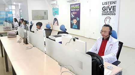 Contact Center Yesdok Layanan Konsultasi Kesehatan Digital