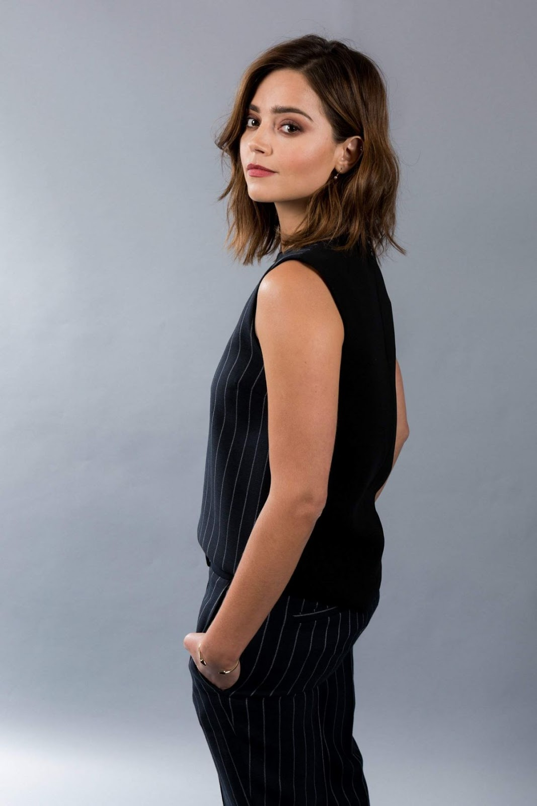 Full 4K and HD Photos of ' Me Before You' actress Jenna Louise Coleman TCA Portraits 2016