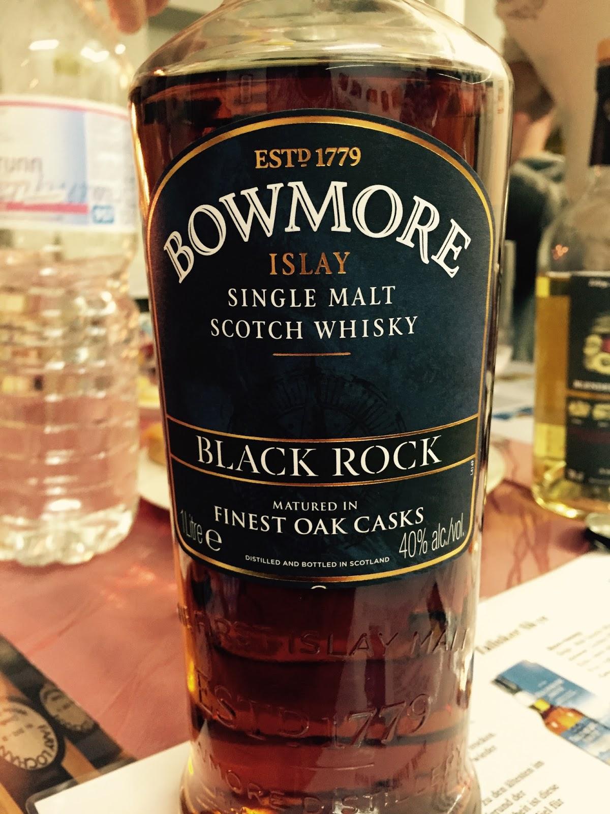 bowmore black rock