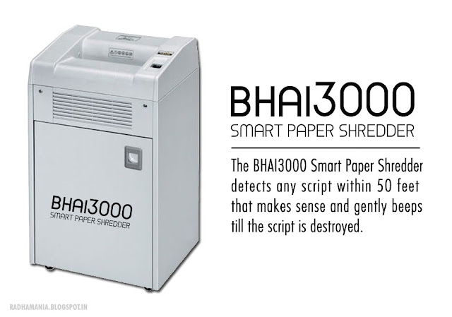 Bhai3000 smart paper shredder Salman Khan