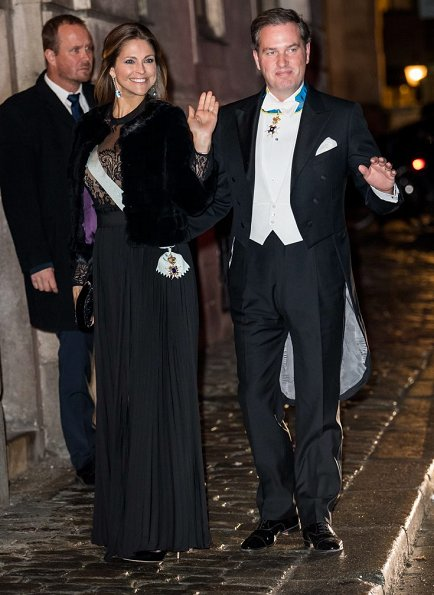 Princess Sofia wore Valentino gown, Princess Madeleine wore lace gown, Princess Victoria wore By malene Birger dress