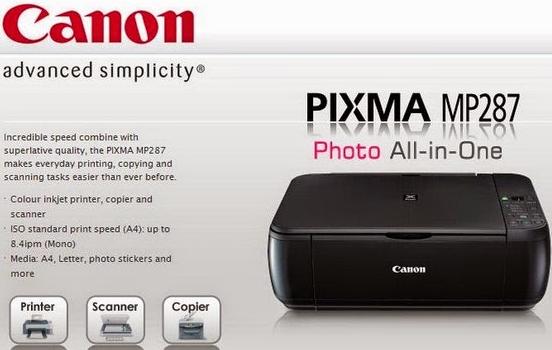 Canon Pixma Mp287 Driver Software Download