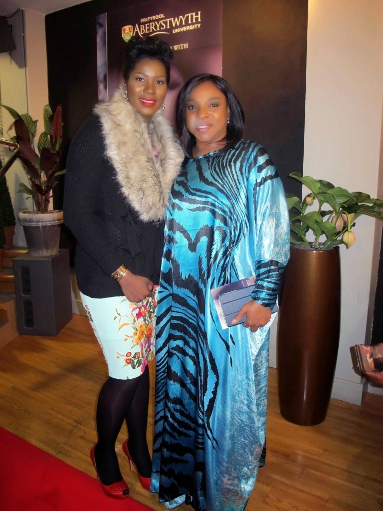 stephanie okereke movie premiere wales