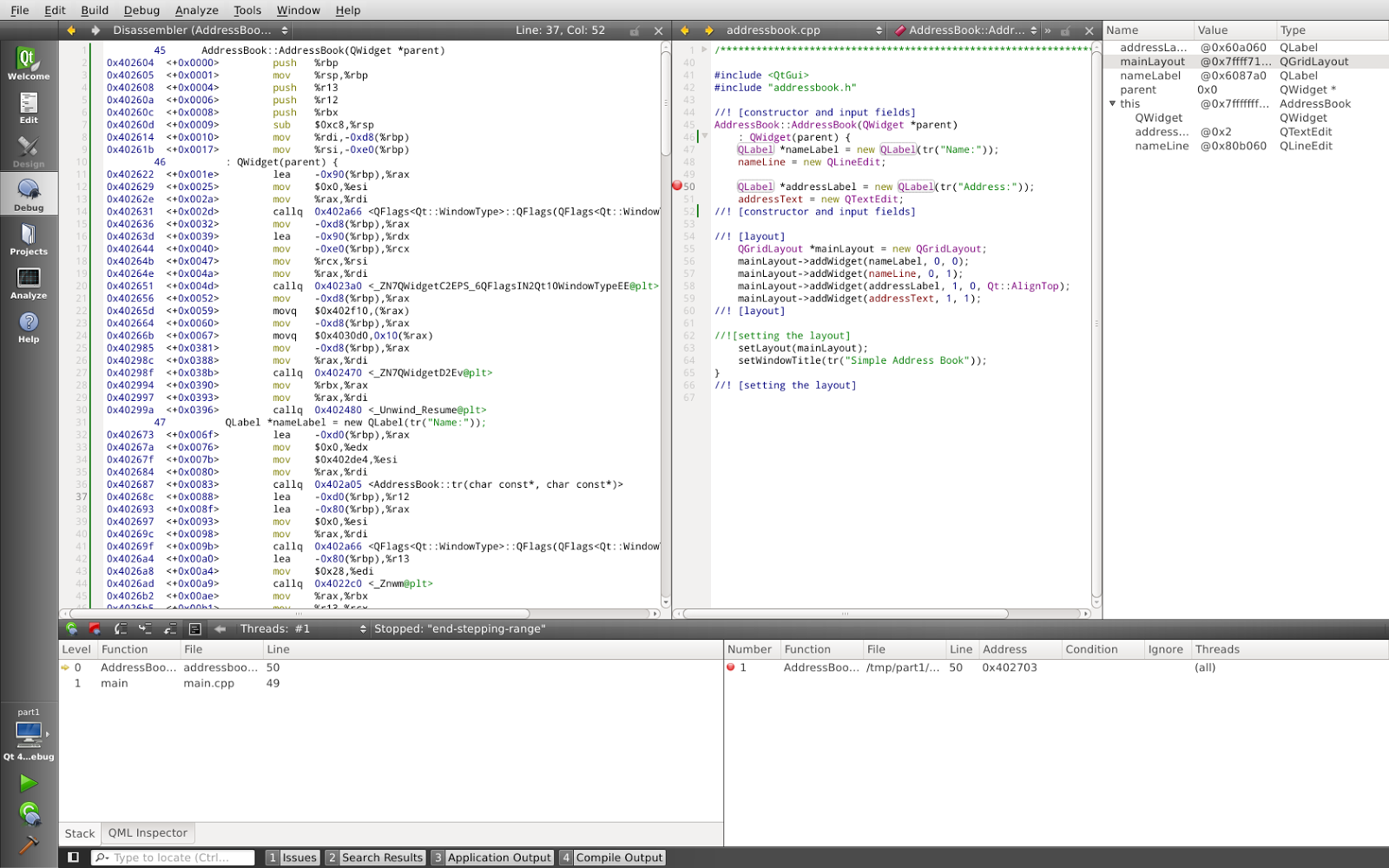 Vikram and Neha: Qt Creator: a superb IDE for Linux