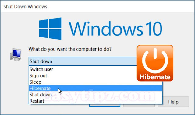 How to Enable/ Disable Hibernation mode (Hibernate) in Windows XP,Windows 7 and Windows 10