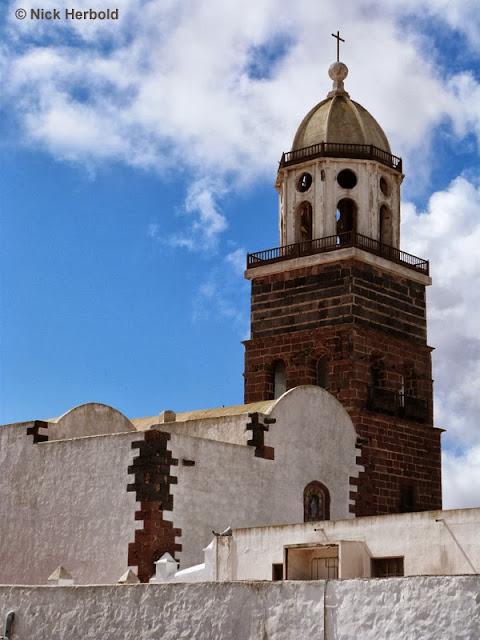 Kirche in Teguise, Teguise auf Lanzarote, Ausflugsziele Lanzarote