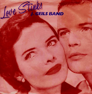 "J. Geil's Band cruised to #38 on the singles charts with ""Love Stinks"" in 1980."
