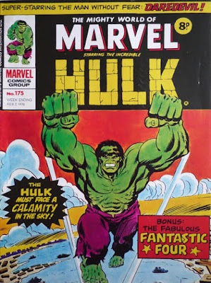 Mighty World of Marvel #175, Hulk