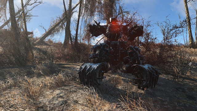 Review – Fallout 4, Automatron sentry