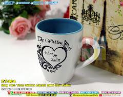 Mug Two Tone Warna Dalam Wini Dan Ralim