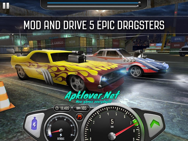 Top Speed Drag & Fast Racing MOD APK unlimited money